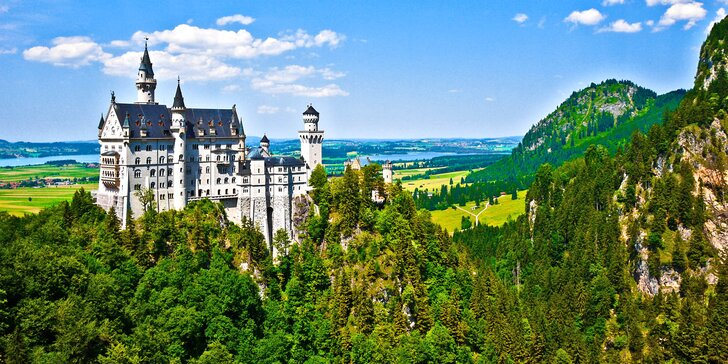 Výlet na pohádkové zámky šíleného krále - Neuschwanstein a Linderhof
