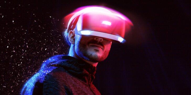 Zábava budoucnosti: 1–3 hod. virtuální reality HTC Vive pro 1–6 hráčů