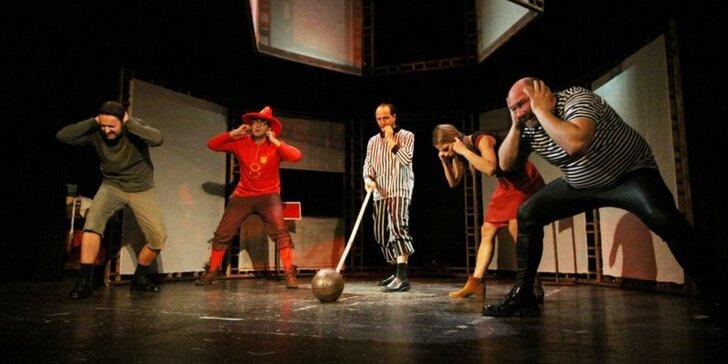 Vstupenka na divadelní představení Nevídaní akademikové / Terry Pratchett