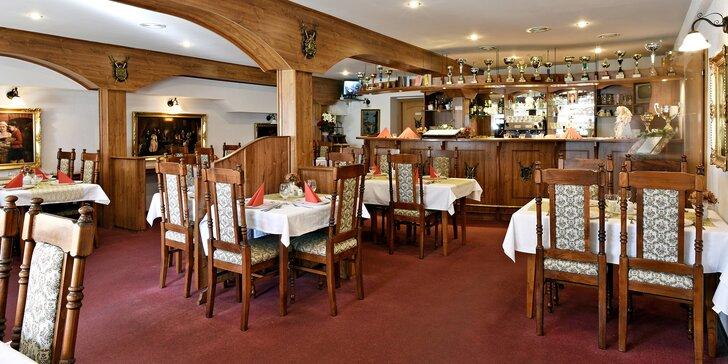 Cokoliv z jídelního lístku Golemova restaurantu v hodnotě 500–2000 Kč