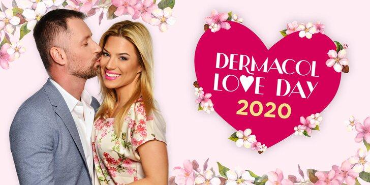 DERMACOL LOVE DAY v Grébovce: balíček s dárky, zábava a vystoupení Mikolase Josefa