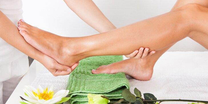 Detox pro tělo i duši: Klasická i lymfatická masáž nohou i obličeje