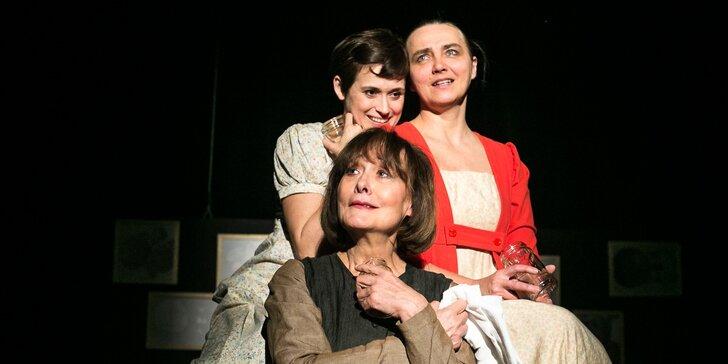 2 vstupenky na divadelní představení Zahrada Jane Austenové + drink