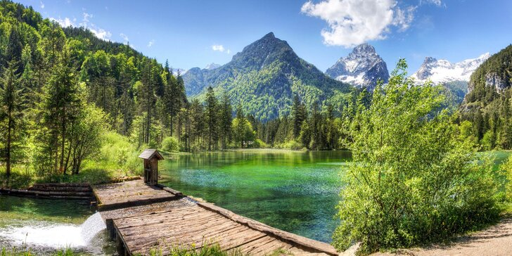 Rakouské Totes Gebirge: poznávací zájezd do hor, 4 noci se snídaní, túry i vyjížďky lanovkou