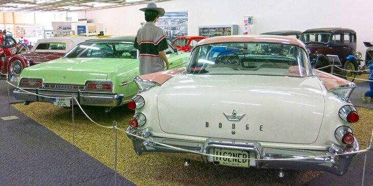 Za retro auťáky do Technického muzea: Vstupné pro jednotlivce i celou rodinu