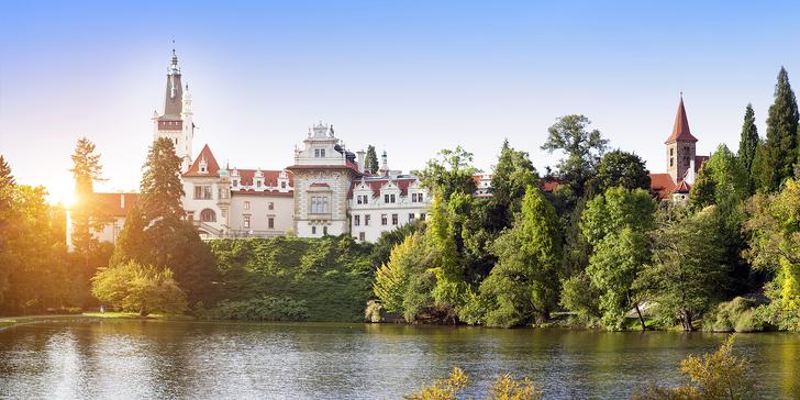 Odpočinek v blízkosti Průhonického parku se snídaní a zvýhodněným aquaparkem