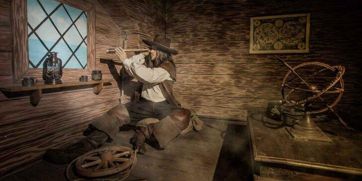 Špionážní únikovka pro 2-5 hráčů: Kryštof Kolumbus vyplouvá