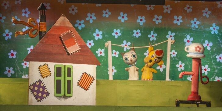 Divadlo Říše Loutek uvádí loutkové představení O pejskovi a kočičce