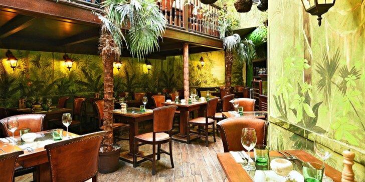 Dárkový poukaz na jídlo i pití v kubánské restauraci v hodnotě 500 až 2000 Kč