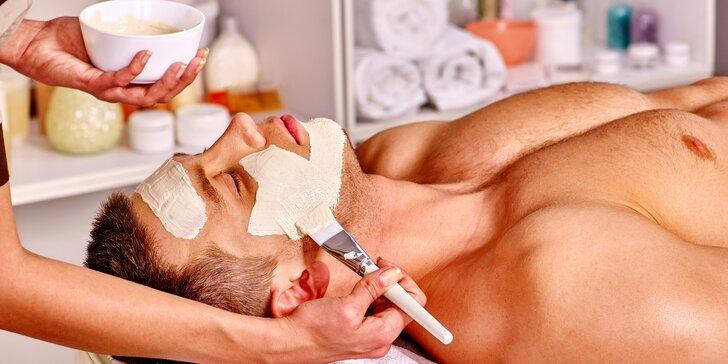 Hydratační kosmetické ošetření pro muže