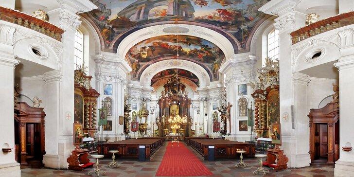 Vstupenka na romatické koncerty v katedrále u Karlova mostu