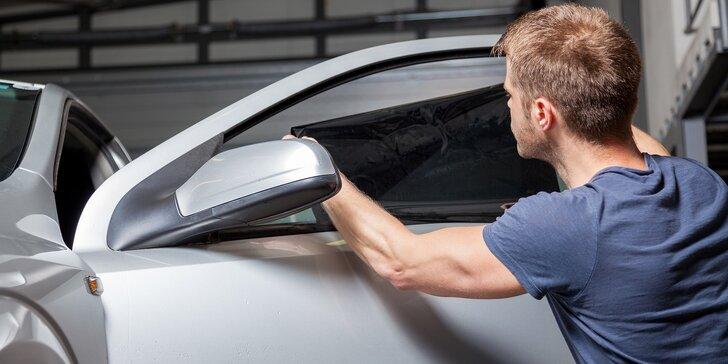 Komfortní jízda a parádní výhled: tónování autoskel s atestem 8SD
