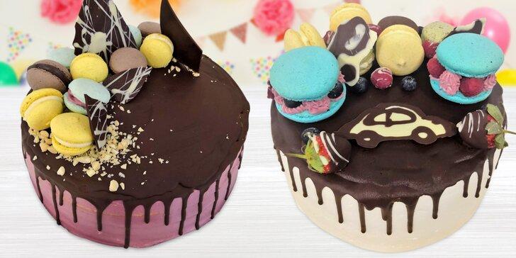 Skvělé dorty z bezlepkové cukrárny: s máslovým, borůvkovým či mascarpone krémem