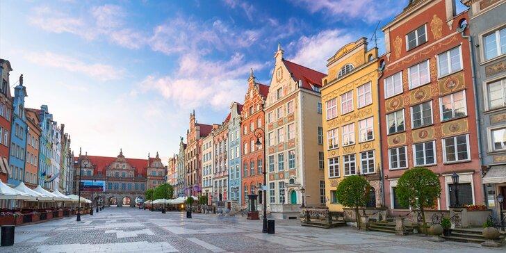 Pobyt v srdci Gdaňsku: bufetové snídaně a 10% sleva do restaurace i spa
