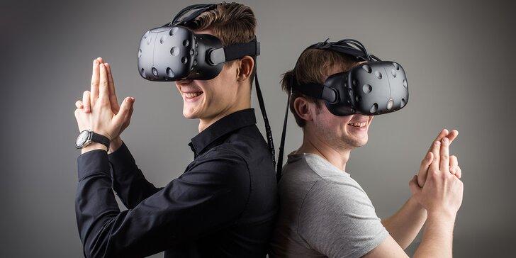 Zábava budoucnosti: virtuální realita i závodní simulátor pro 1–4 osoby