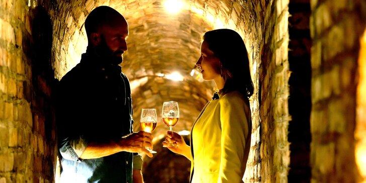 Zážitky v podzemním městě vína: prohlídka i piknik ve Valtickém Podzemí