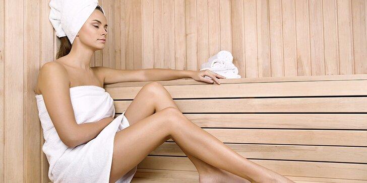 Jarní relax: 3 hod. saunování se sektem i s možností čokoládového fondue