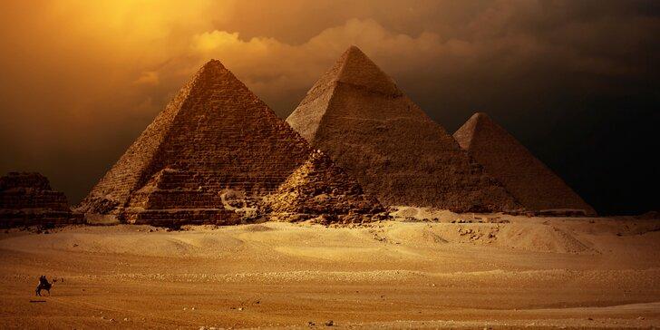 Dostaňte se z pyramidy faraona: Úniková hra Egypt pro 2-4 hráče
