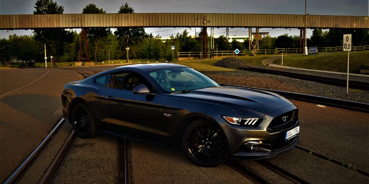 Rozjeďte to v žihadle Ford Mustang GT 5.0 2017 až na 60 minut