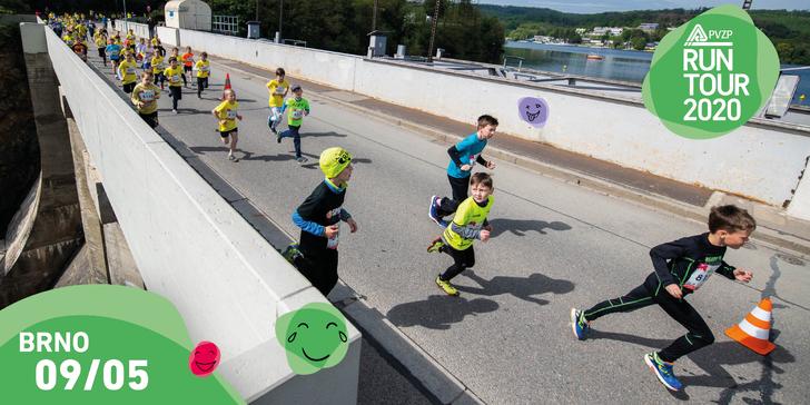RunTour 2020 v Brně: 3, 5 nebo 10 km včetně Slevomat Run