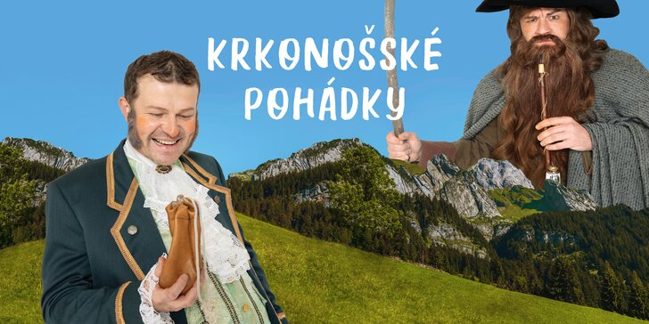 Vstupenka na představení Krkonošské pohádky v Divadle Metro