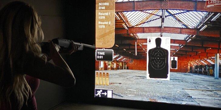 100 minut zábavy pro 2-4 hráče: virtuální realita, střelecký simulátor a hry
