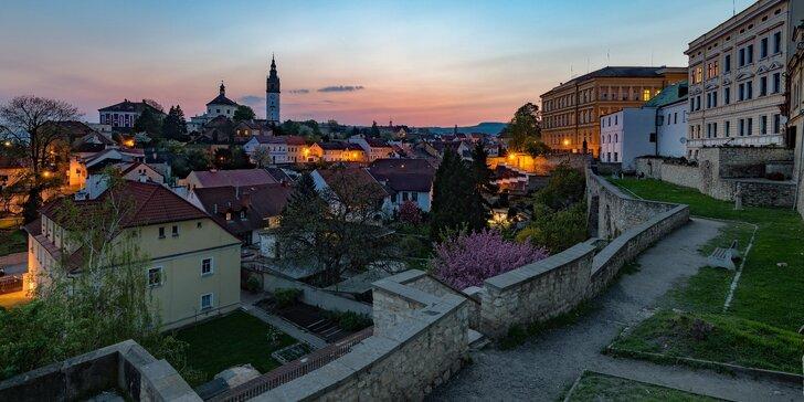 Jarní pobyt v historických Litoměřicích vč. snídaně: 4 km od Terezína