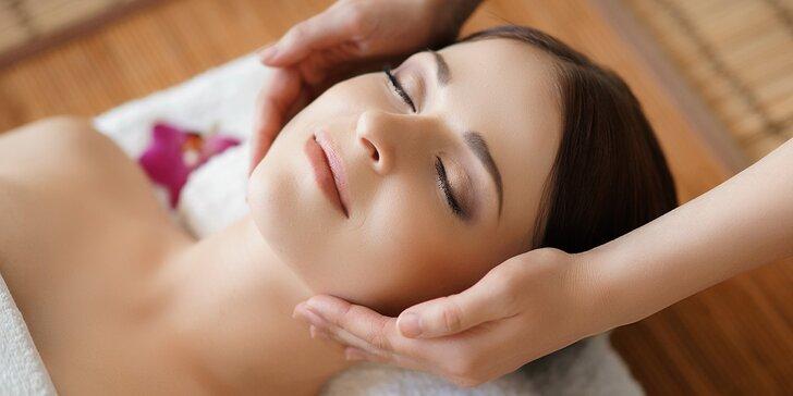 Luxusní kosmetické ošetření pleti dle výběru