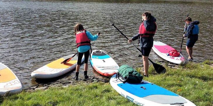Příměstský tábor s paddleboardy: vodácké a sportovní aktivity i strava