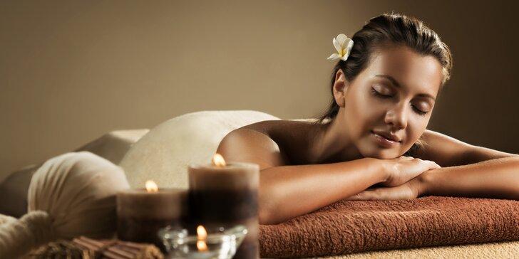 90 minut relaxace ve všední den v krásném thajském salonu v centru Prahy