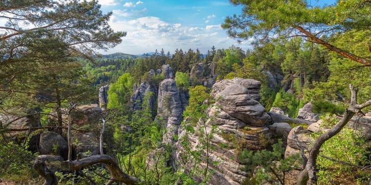 Dovolená u Českého ráje: polopenze, sauna i výlety