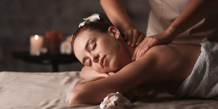 90 minut hýčkání v Diamond Spa: masáž, oxygenoterapie a hubnoucí zábal