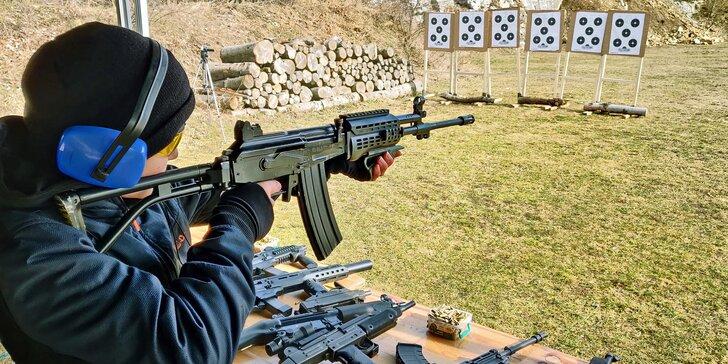 Nabité střelecké zážitky: až 26 zbraní a 155 nábojů, velký výběr střelnic po celé ČR