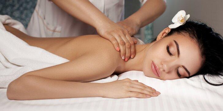 110 minut relaxace: výběr ze 4 luxusních thajských masáží vč. aroma lázně