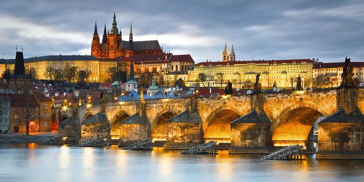 Praha jako na dlani: pobyt kousek od Václavského náměstí se snídaní