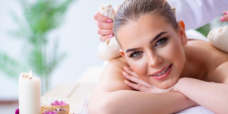 Jarní 90minutové povzbuzení: thajská masáž s oxygenoterapií