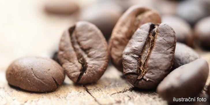Tohle si vychutnáte: až 1 kg zrnkové kávy z Cafe del Custo