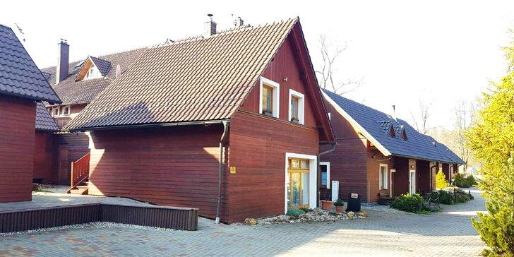 Vybavená chata poblíž Pradědu: pohoda a výlety v Jeseníkách až pro 14 osob
