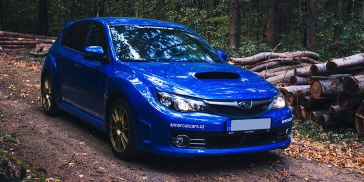 Staňte se jezdcem rally: jízda v Subaru Impreza WRX STi