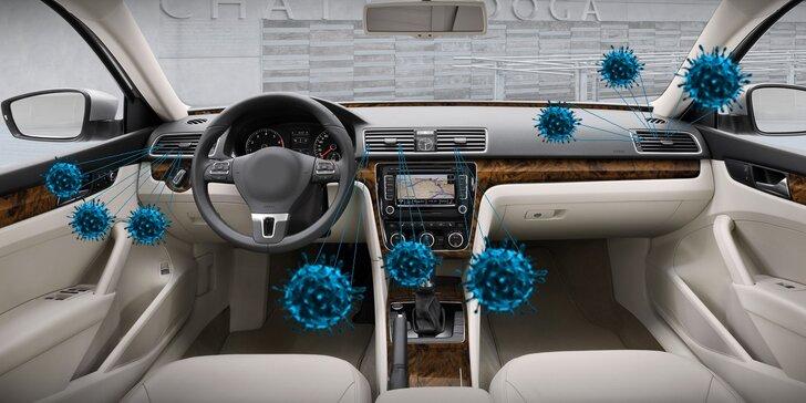 Ozonové čištění klimatizace a dezinfekce interiéru