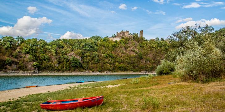 Pro partu či rodinu: Jaro nebo podzim v apartmánech u Vranovské přehrady i s loďkou