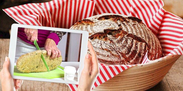 Naučte se péct chleba: On-line kurz pečení z žitného nebo bezlepkového kvásku