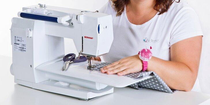 Online škola šití začátečníky i pokročilé s profesionální švadlenkou