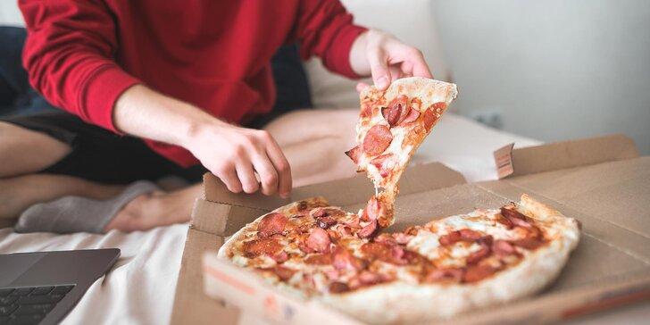 Dobrota až domů: pizza podle výběru z 19 druhů a Coca-Cola