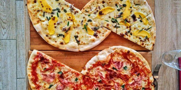 Jídlo z Babetti k vám domů: pasta nebo pizza dle výběru i s nápojem a rozvoz za příplatek