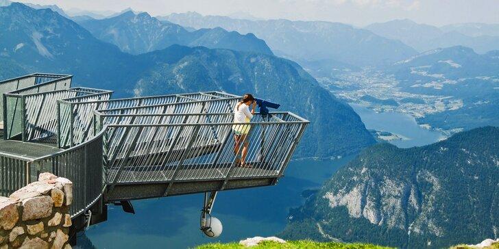 Výlet na Dachstein a město Hallstatt v Rakousku: úžasná vyhlídka Pět prstů i Mamutí jeskyně