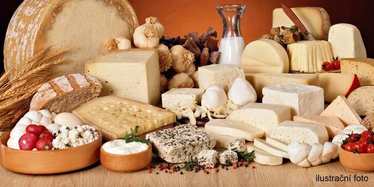 Kurz domácí výroby sýrů, jogurtů a mléčných produktů v Holešovicích