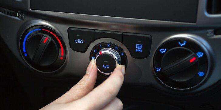Servis klimatizace automobilu: čištění, přefiltrování chladiva i test těsnosti