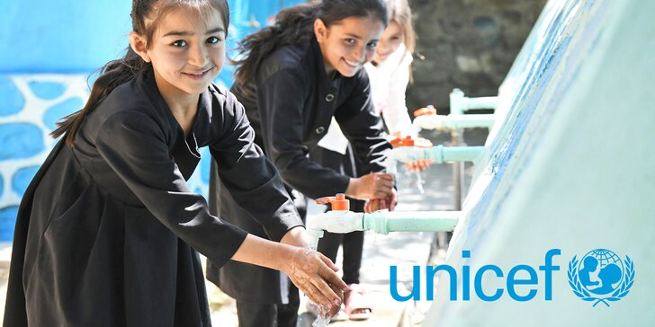 Podpořte terénní programy UNICEF zaměřené na prevenci šíření nemoci Covid-19