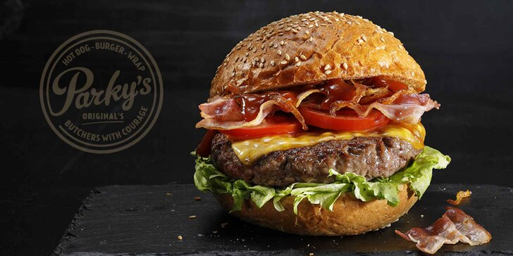 30% sleva na celý sortiment Parky's Vodičkova: burgery, hot dogy a wrapy